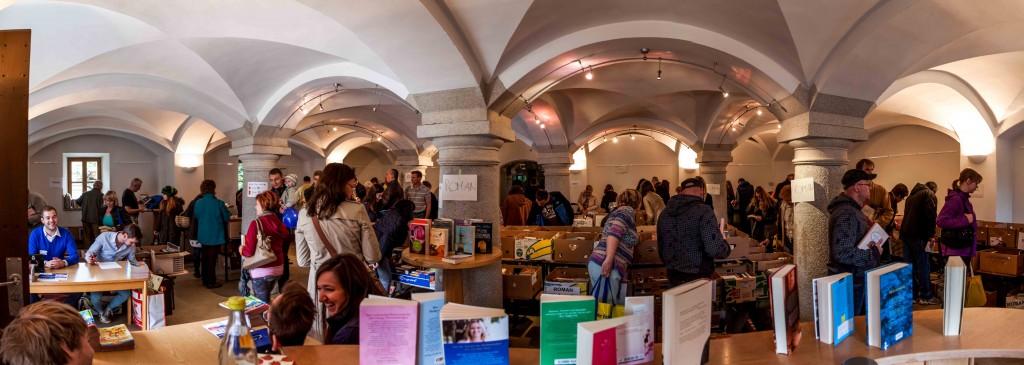 Bücherflohmarkt 2014